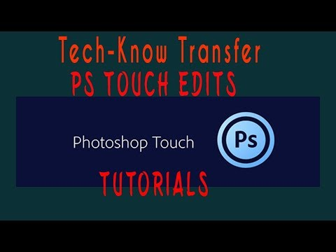 PS Touch Edits - Installation - An app just like photoshop in PC and MAC