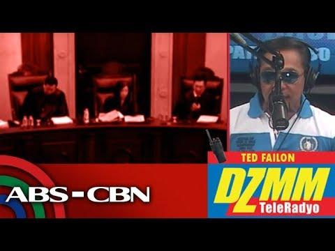 DZMM TeleRadyo: Lawyer confident of impeach rap vs Sereno