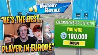 Best EU Player DOMINATES Champion Division