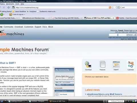 How to make a forum