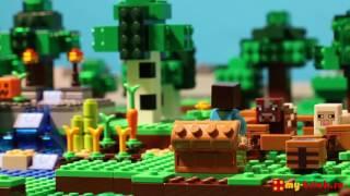 видео Купить Лего 21114 Ферма (Lego Minecraft)
