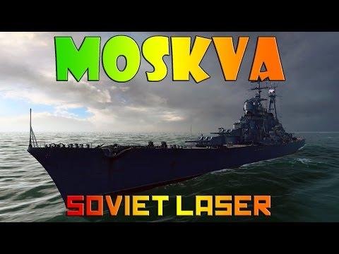 World of Warships - Moskva - Soviet Laser