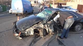 Авария в Василькове на подъёме к Беспятному