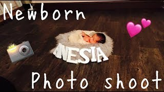 ANESIAS NEWBORN PHOTO SHOOT!!