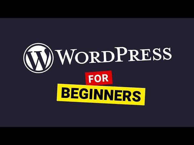 WordPress Tutorial for Beginners (2020) - Make a Professional Website!