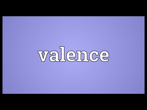 Valence Meaning