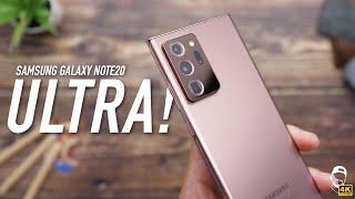 📱 Samsung Galaxy Note20 Ultra Recenze: Tohle je fakt VELKÝ! | WRTECH [4K]