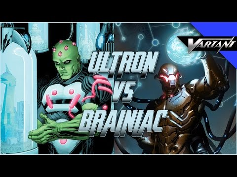 Ultron VS Brainiac: Epic Battle!