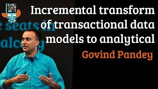 Incremental transform of transactional data models to analytical data models in near real time