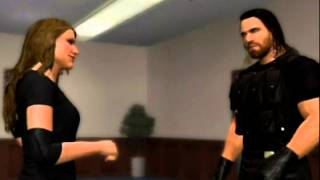 Seth Rollins Kisses Stephanie McMahon in locker room