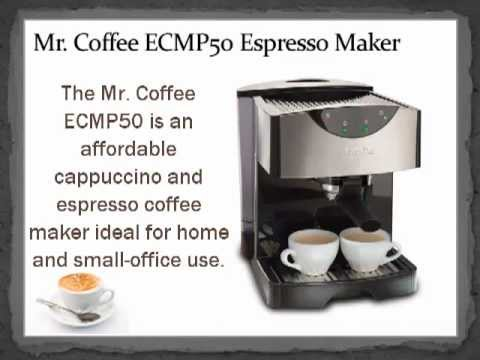 Mr Coffee Espresso Maker How To Use : Mr. Coffee ECMP50 Espresso/Cappuccino Maker - YouTube
