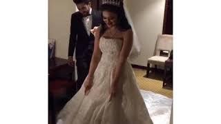 احراج العروسه وهو العريس بيخدها من الكوافير