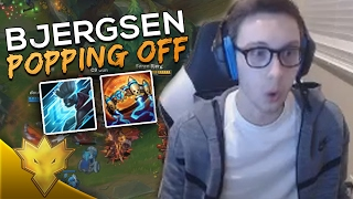 TSM Bjergsen & Doublelift - BJERGSEN IS POPPING OFF! - League of Legends Funny Moments & Highlights