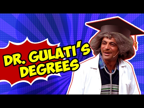 Thumbnail: Dr. Gulati's Degrees | Most Funny Video | The Kapil Sharma Show