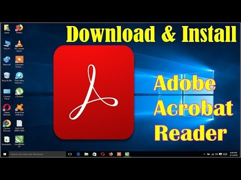 How To Download And Install Adobe Acrobat Reader DC On Windows   Hindi   Cyberpoint9