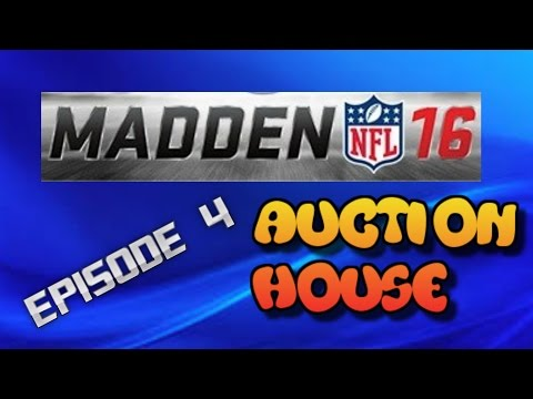 Upgrading Our Defense!! Madden 16 Auction House  Episode 4