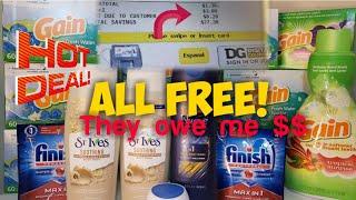 "Free stuff at Dollar General ""Penny Shopping"""