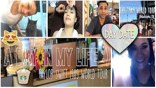Day In My Life | DAY DATE | TAYLOR SWIFT 1989 WORLD TOUR