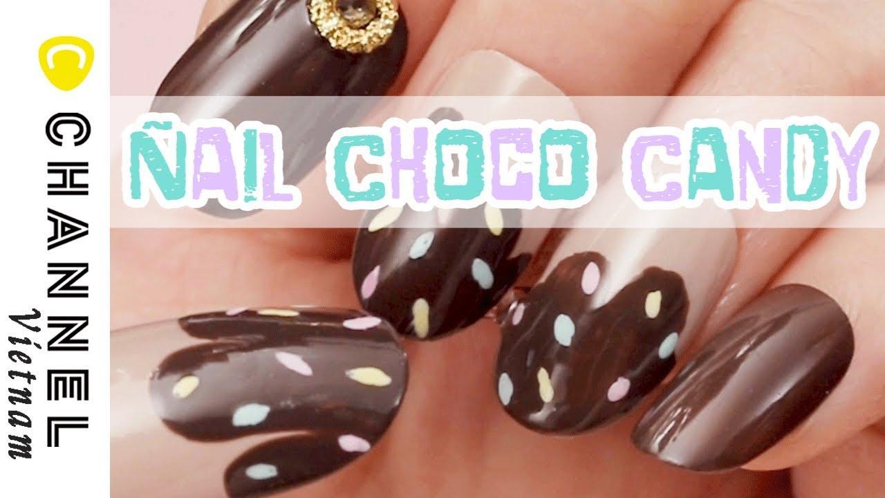Nails Choco Candy cho cô nàng dễ thương ❤︎ ♡