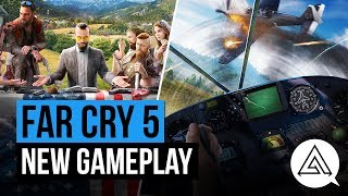 13 Minutes of New Far Cry 5 Gameplay | PS4 Pro 4K