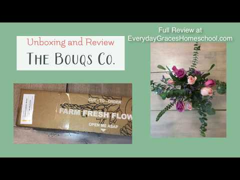 The Bouqs Co. Unboxing And Review