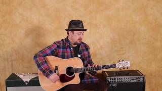 How to Play - She Talks to Angels by The Black Crowes - Guitar Lesson - Tutorial - Acoustic