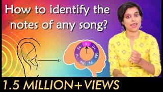 How to identify the notes of any song? | VoxGuru ft. Pratibha Sarathy