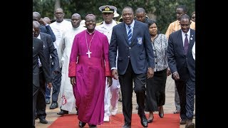 President Uhuru steals show at former school, St. Mary's, in school uniform