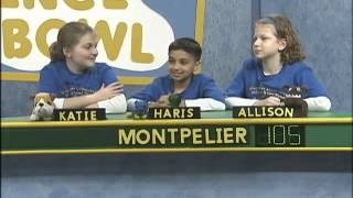 Science Bowl:  Glenarden Woods vs  Montpelier