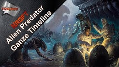 Alien Predator Prometheus Timeline - Deutsch - German