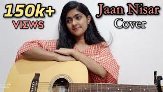 Jaan Nisaar cover by preety semwal    Kedarnath   Arijit singh   female version   guitar cover
