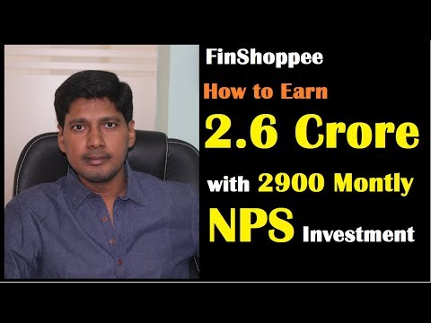 How To Earn 2 Crore 60 Lakhs With NPS Investment For Retirement | Financial Plan For Retirement