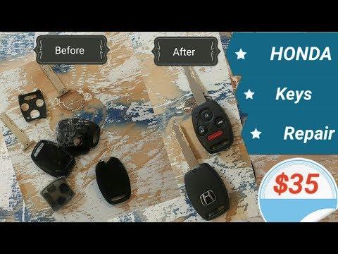Removing stripped screw on Honda remote key