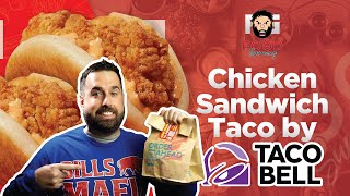 Anyone Remember 4th Meal? Taco Bell Breaded Chicken Sandwich Taco Review