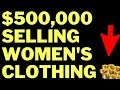 Selling $100K Worth of Women's Clothing on Shopify & Facebook