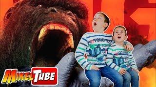 Kong La Isla Calavera - Vlog. Vamos al Cine con Papa