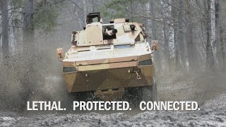 Video BAE Systems-Patria AMV35 for Land 400 download MP3, 3GP, MP4, WEBM, AVI, FLV Mei 2018