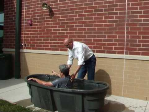 Dean Highland Baptism - Easter 2010