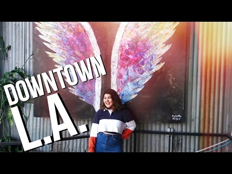 The Best Spots in Downtown Los Angeles // USC Vlog
