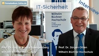 Fernstudium IT-Sicherheit an der Wilhelm Büchner Hochschule || Live-Interview