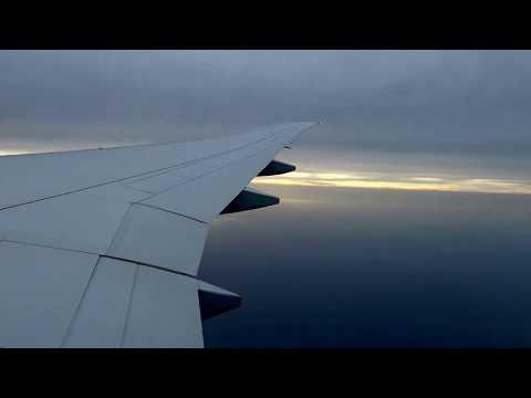Landing in Doha - Qatar Airways (JFK to Doha)