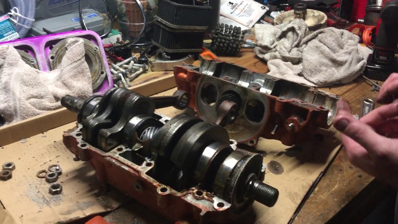 Seadoo 720 Engine Rebuild  Bottom End Almost Failed
