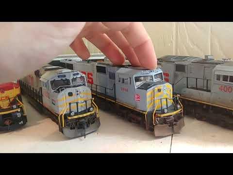 Kcs locomotive roster.
