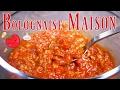 Sauce bolognaise MAISON 🍅 🍝