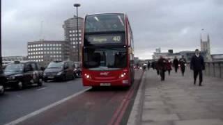 Early Morning Rush Hour at London Bridge