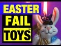 """Easter Failure """"Fail Toys"""" Review Video Mike Mozart of Funny @JeepersMedia on YouTube"""