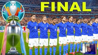 PES 2021 Italy vs Spain Final EURO 2021 Full Match All Goals HD Gameplay PC