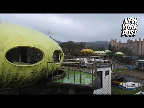 Explore this village of abandoned UFO houses | New York Post