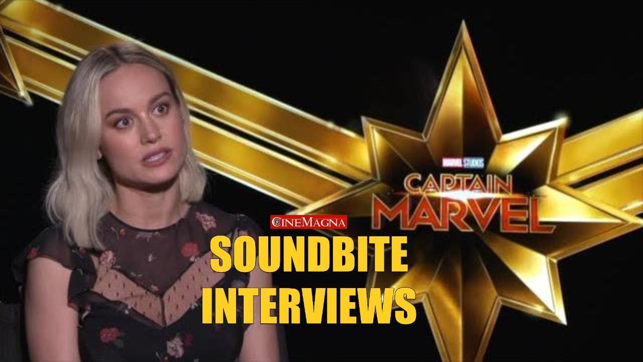 Ana Ayora Age interviews with cast of captain marvel brie larson (samuel l. jackson)