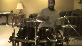 Tupac ft  scarface   smile drum cover Krash